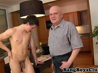 Euro housecleaner seduced by older man