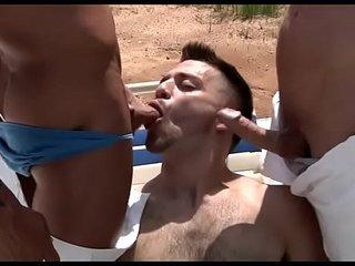 Classroom anal orgy on web camera