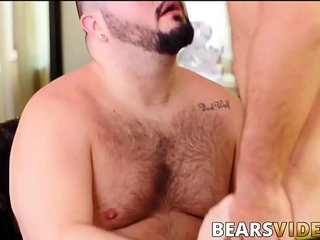 Two hairy homosexual deviants have bareback fuck fest