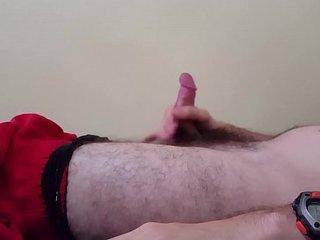 Teen White Boy Jerking Off And Cumming