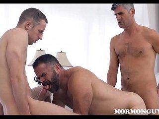 Mormon Jock Fucked By Church Daddy