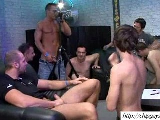 Sweet group gays blowjob cocks