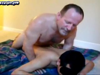 Daddy fucking his twink