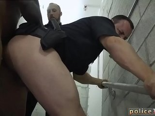 Gay sexy male cops movie Fucking the white officer with some