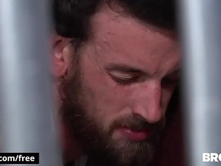 Bromo - Rocko South with Zane Anders at Barebacked In Prison Part 1 Scene 1