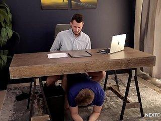 NextDoorRaw Caught U Barebacking At Work! I'll Join & Keep Quiet.