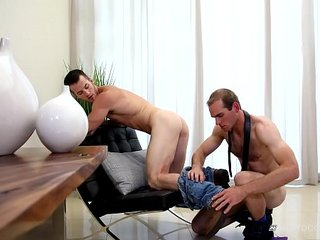 NextDoorStudios Hairy Muscle Daddy Analized Younger Tattoed Hunk