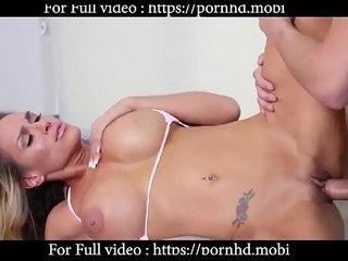 Alexa Biz gets penetration to tiny pussy pov