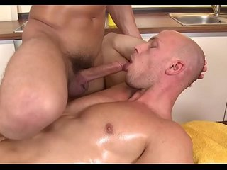 Homosexual male porn massage
